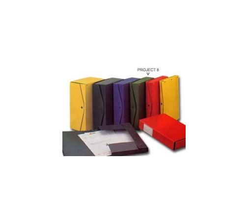 Scatola project 8 giallo 25x35cm dorso 8cm Confezione da 5 pezzi 00023706_29544 by King Mec