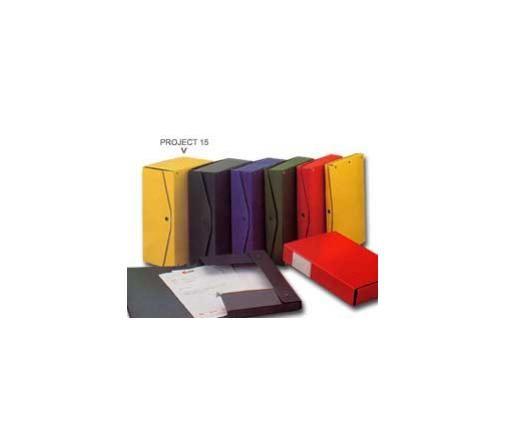 Scatola project 15 rosso 25x35cm, dorso 15cm Confezione da 5 pezzi 00025011_29562 by King Mec
