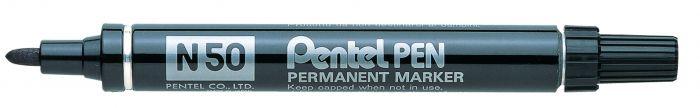 Marcatore pentel pen n50 nero p.tonda N50-A 29882A N50-A_29882 by Pentel
