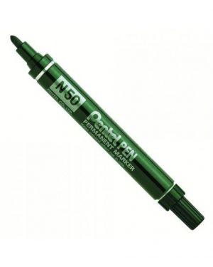 Marcatore pentel pen n50 verde p.Tonda N50-D_29885