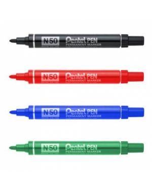 Marcatore pentel pen n50 arancio p.Tonda N50-F_29887 by Esselte