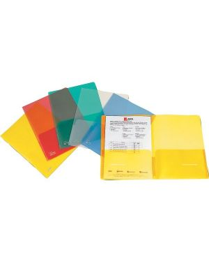 Cartellina con tasche full 21x29.7cm assortito Confezione da 5 pezzi Cod. 00111455 8004389067380 00111455_30060