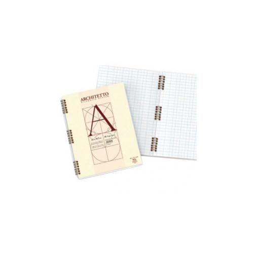 Blocco architetto spirale 220x297mm 10mm 40fg 100gr Confezione da 10 pezzi 010544210_30095 by Pigna