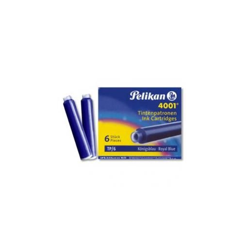 Scatola 6 cartucce inchiostro tp6 blu royal pelikan 4001 0atm01 OATM01_30116 by No