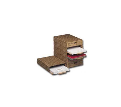 Scatola archivio a4 file (286) 26x8x35cm acco Confezione da 6 pezzi 00028600_30372 by King Mec