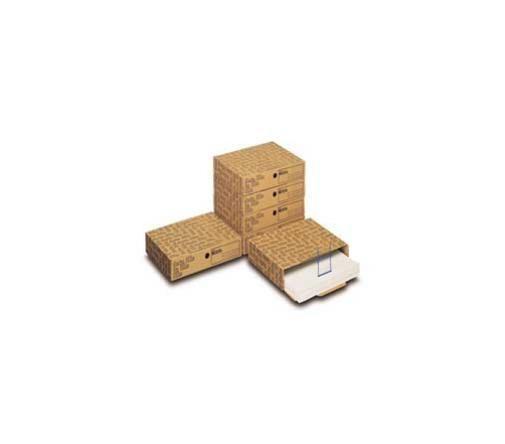 Scatola archivio data file (402) 39x8x30.5cm Confezione da 6 pezzi 00040200_30376 by King Mec