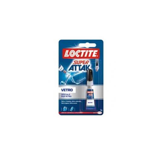 Colla super attak vetro 3gr 1606404_30434 by Loctite