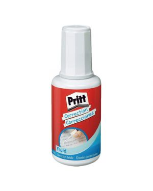 Correttore pritt fluid con pennello ml.20 674147_30513 by Esselte