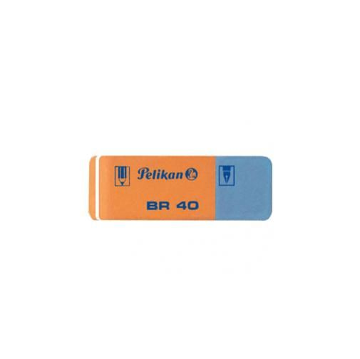 Box 40 gomme pelikan br40 blu rossa OARG40_30573 by Esselte