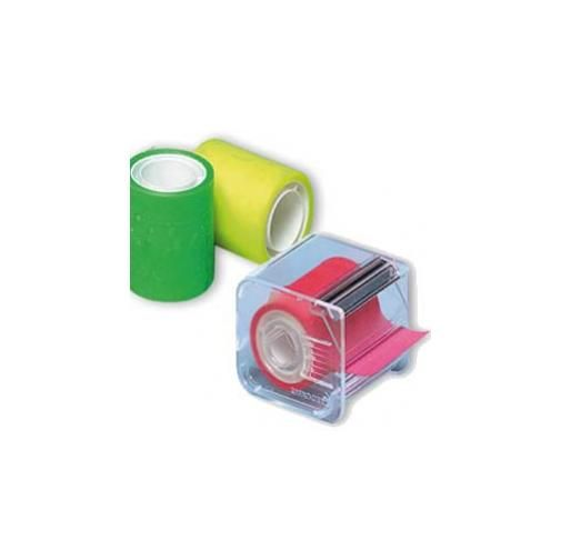 Nastro adesivo memograph c/dispenser 50mmx10mt rosa Confezione da 6 pezzi 021200632_30832 by Eurocel
