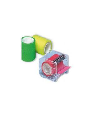 Nastro adesivo memograph c/dispenser 50mmx10mt verde Confezione da 6 pezzi 021300632_30834 by Eurocel