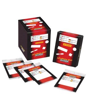 Etichetta adesiva bianca 21x14mm (10fogli x 45etichette) markin 10016 8007047035905 10016_31079