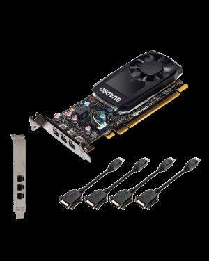 PNY QUADRO P400DVI 2GB PCIE VCQP400DVI-PB by No