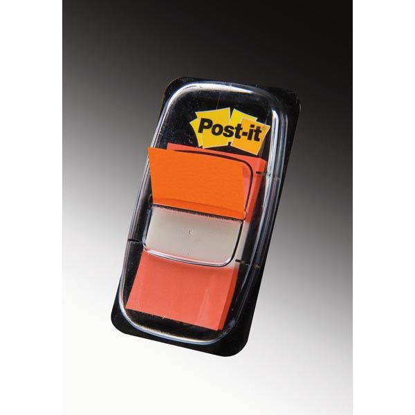 Segnapagina post it 680 4 arancio 25.4x43.6mm 50fg index 4650._32046 by Esselte