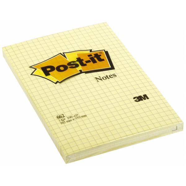 Post-it largenote 102x152 qua Post-it 70209 3134375014274 70209_32163 by Post-it
