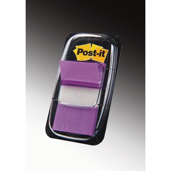 Segnapagina post-it® 680-8 porpora 25.4x43.6mm 50foglietti 11165 21200707575 11165_32211 by Post-it