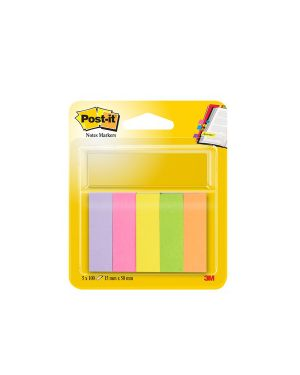Segnapagina post it 670 5 (500fg) 5colori index 15x50mm in carta 14879_32227