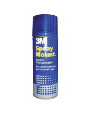 Adesivo spray 3m mount riposizionabile - trasparente 400ml 58952_32318 by 3m