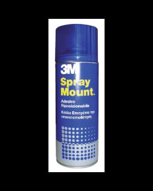 Adesivo spray 3m mount riposizionabile - trasparente 400ml 58952_32318