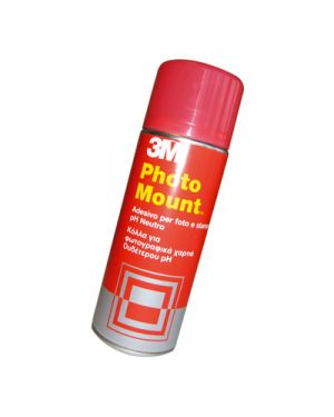 Colla spray 3m photo mount permanente 400 ml 3M 58953 5010027716803 58953_32324 by 3m