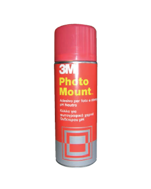 Adesivo spray 3m photo mount alta qualita' - trasparente 400ml 58953_32324 by 3m