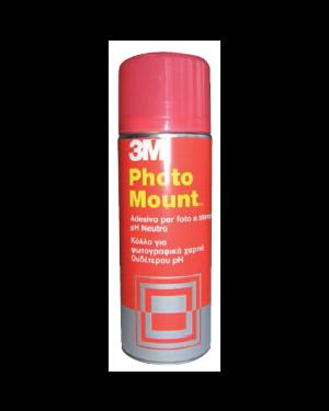 Adesivo spray 3m photo mount alta qualita' - trasparente 400ml 58953_32324