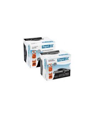 Scatola 5000 punti rapid 9/14 zincati per alti spessori 24871500_32381 by Rapid
