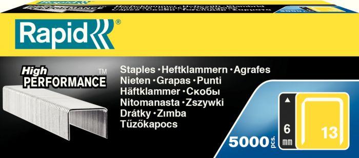 Scatola 5000 punti rapid 13/6 galvanizzati 11830700_32400 by Esselte