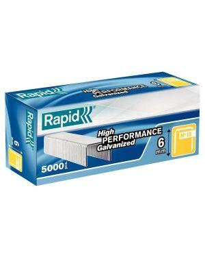Scatola 5000 punti rapid 13 - 6 galvanizzati 11830700 7313469013034 11830700_32400 by Rapid