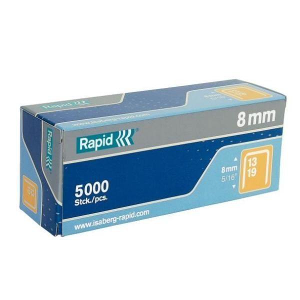 Scatola 5000 punti rapid 13 - 8 galvanizzati 11835600 7313469013065 11835600_32402 by Rapid