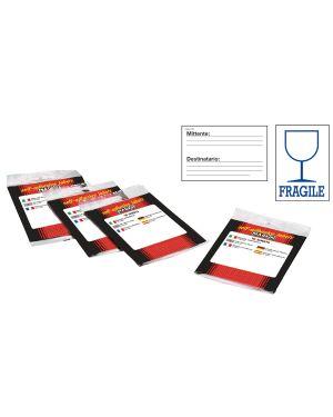 Etichetta adesiva bianca 10fg x 2 etichette 115x70mm fragile markin 10060 8007047038548 10060_32426 by Markin