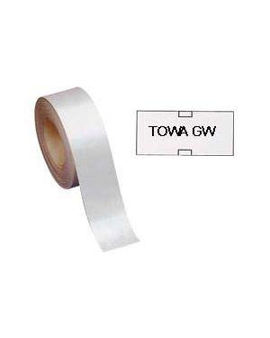 Rotolo 1000 etichette 26x12mm bianca permanenti x prezzatrice towa gw 350GWPER 37211/A 350GWPER_32487 by Markin