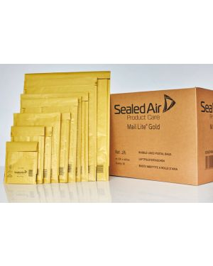10 buste imbottite gold a 11x16cm utile avana mail lite® sealed air 103049052 5051146001982 103049052_32624 by Mail Lite