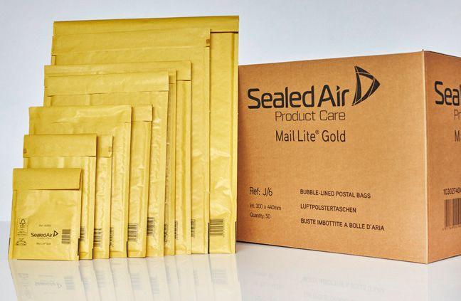 10 buste imbottite gold e 22x26cm utile avana 103041282 5051146002019 103041282_32628 by Mail Lite