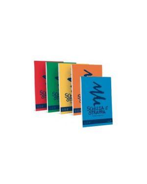 Blocco schizzastrappa bianco 29,7x42cm 150fg 50gr favini Confezione da 5 pezzi A200703_32638 by Favini
