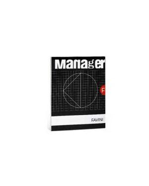 Blocco manager 210x297cm 10mm 90fg 82gr favini Confezione da 5 pezzi A423614_32641 by No