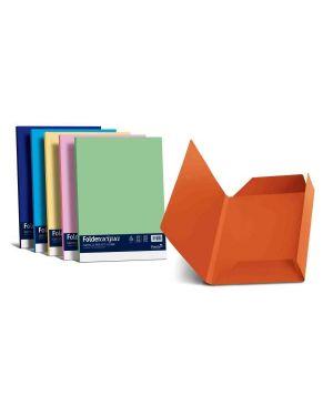 25 cartelline 3 lembi luce 200gr 24,5x34,5cm arancio favini A50E434 8007057263244 A50E434_32662 by Favini
