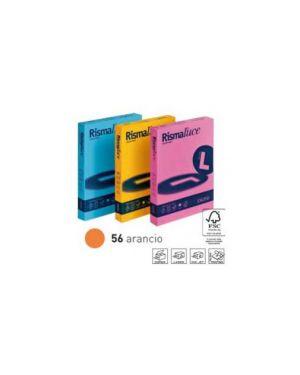 Carta rismaluce 140gr a4 200fg arancio 56 favini A65E204_32737
