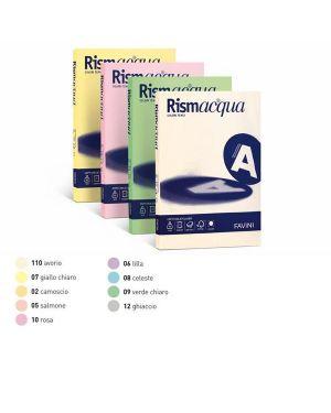 Carta rismacqua 140gr a4 200fg rosa 10 favini A65S204 8007057613445 A65S204_32753 by Favini