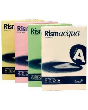 Rismacqua200 mix 5 colori tenui a4 - Rismacqua A67X124_32789 by Esselte
