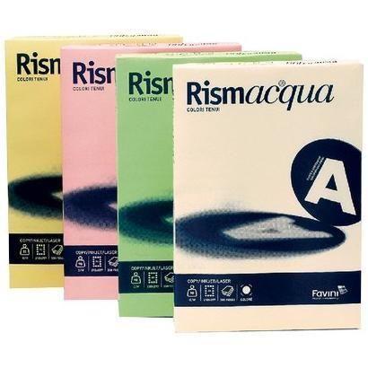Rismacqua200 mix 5 colori tenui a4 Cartotecnica Favini A67X124 8007057621341 A67X124_32789 by Esselte