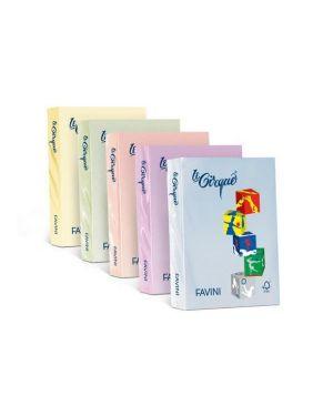 Carta lecirque a4 80gr 500fg giallo pastello 100 favini A712504 8025478320001 A712504_32854 by Favini