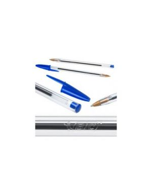 Scatola 50 sfera bic® cristal® medio 1.0mm blu 8373609_33049 by Bic