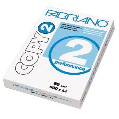 Carta fotocopie fabriano copy 2 a4 gr.80 fg.500 FABRIANO 41021297 8001348103004 41021297_33991 by Fabriano