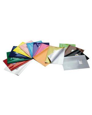 Coprimaxi laccato pvc colorosa verde c - alette e tasca 36718024 34853 A 36718024_34853 by Esselte