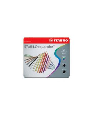 Astuccio 24 pastelli stabilo aquacolor 1624 1624-5_35187 by Esselte