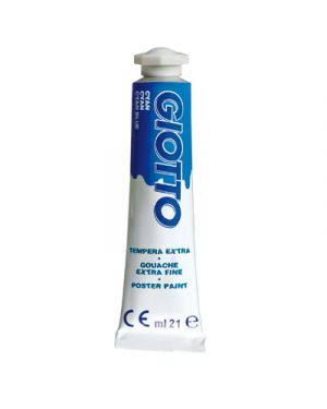 tub. tempera 21ml cyano Giotto 355015 8000825320637 355015_36141 by Giotto