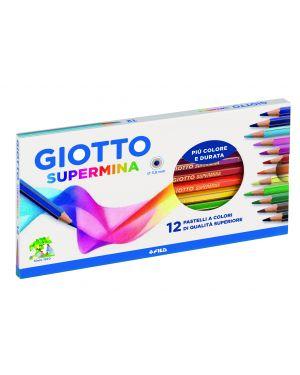 Astuccio 12 pastelli supermina giotto 235700 8000825235719 235700_36196 by Giotto