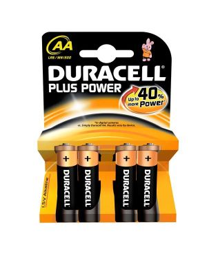 Blister 4 pile duracell plus (mn1500) aa - stilo GILMN1500 5000394017641 GILMN1500_36205 by Esselte