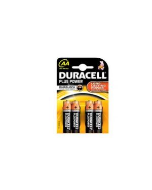 Blister 4 pile duracell plus (mn1500) aa - stilo GILMN1500_36205 by Esselte